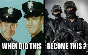 Police: Peace to War