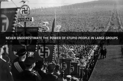 nazi collectivist statist stupid