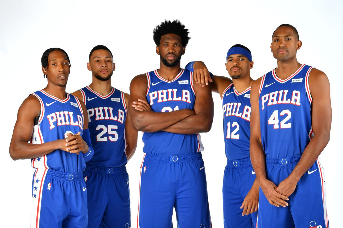 76ers starters