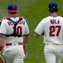 Phillies Realmuto Nola