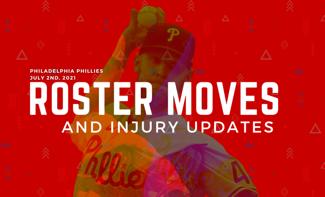 Phillies Roster Moves July 2nd