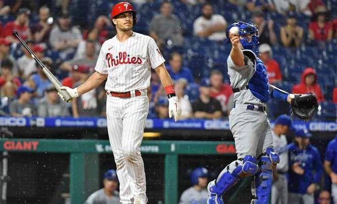 Phillies Dodgers Rain Delay