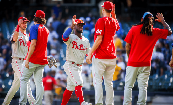 Phillies Brewers 12-0