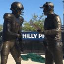 Nick Foles statue missing