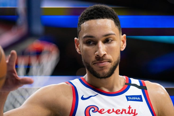 Ben Simmons Sitting Out