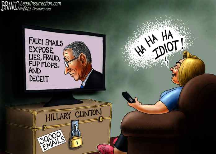 Hillary Clinton Laughs at Fauci's Email Problem | The Liberty Loft