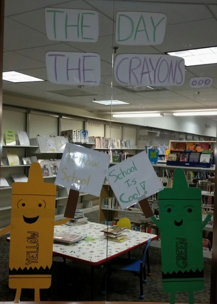 The Day the Crayons... Went Back to School!