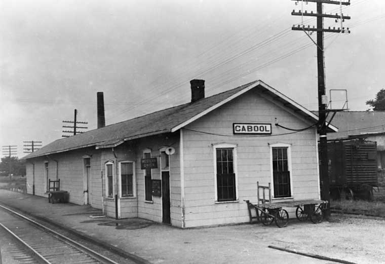 Frisco Depots Texas County Missouri