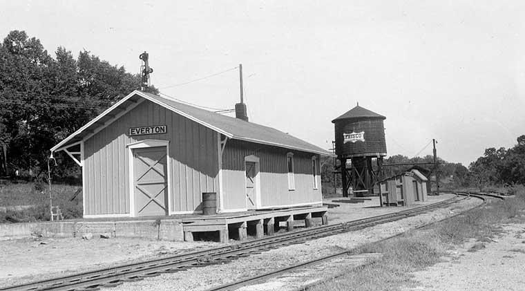 Frisco Depots Dade County Missouri