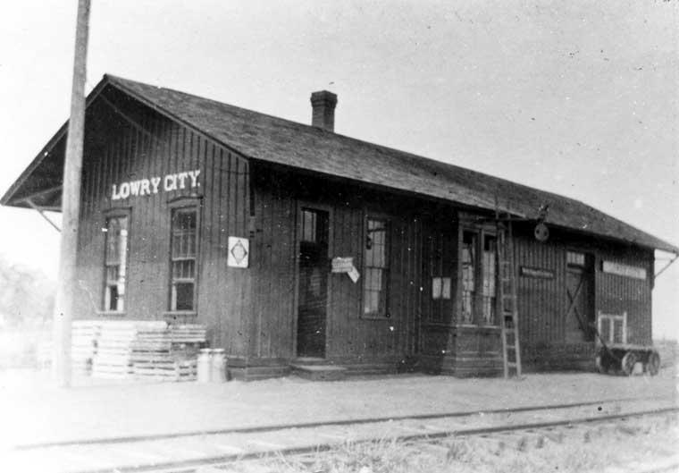 Frisco Depots St Clair County Missouri