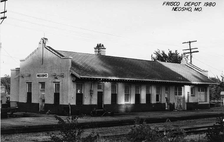 Frisco Depots Newton County Missouri