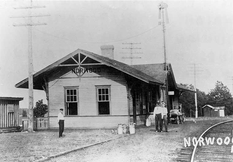 Frisco Depots Wright County Missouri