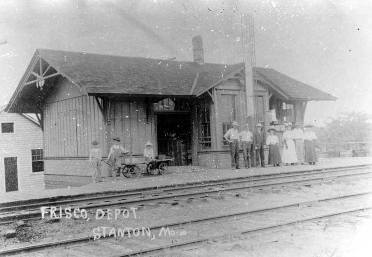 Frisco Depots Franklin County Missouri