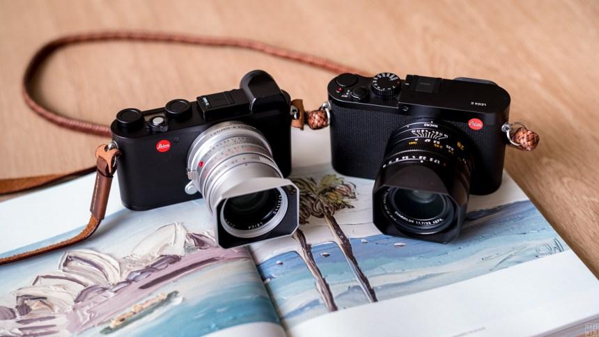 Leica CL and Leica Q