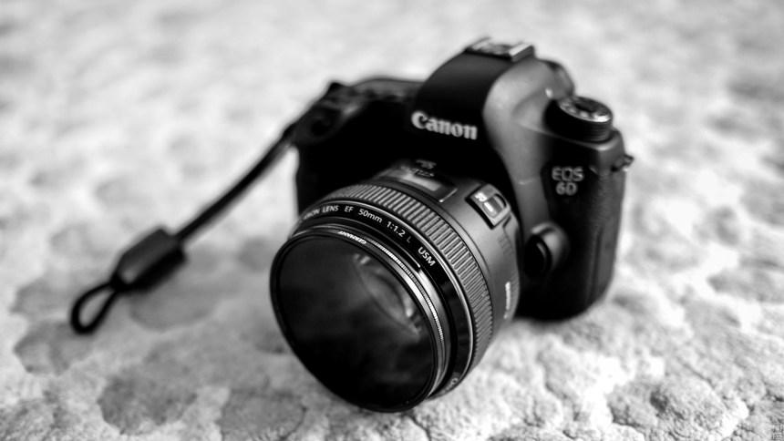 캐논 DSLR 6D, 50mm 렌즈