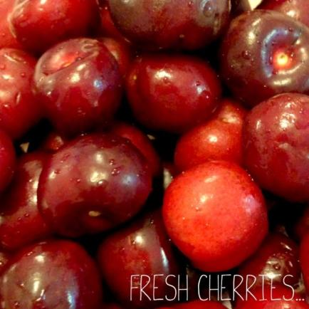 Fresh Cherries from Whole Foods...