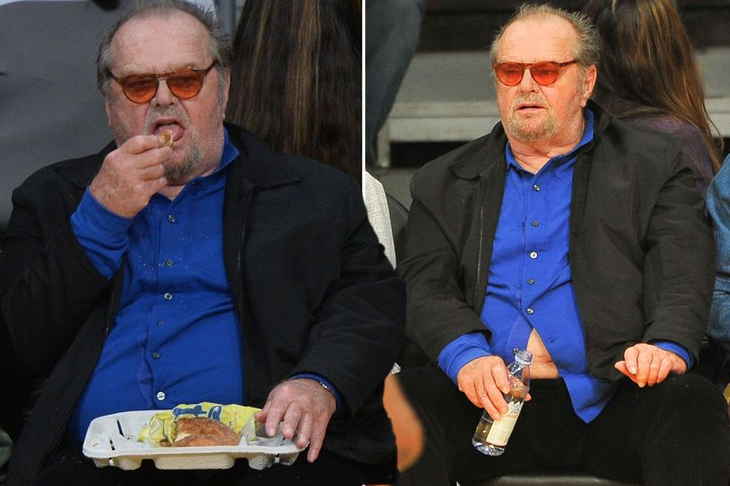 Jack Nicholson Forgets To Do Up His Shirt Buttons As He Watches The Los Angeles Lakers Alongside Floyd Mayweather The Life Times Of Hollywood It's like a candy store in here. jack nicholson forgets to do up his