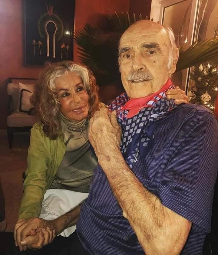 Sean Connery is 89 and his wife Micheline,90, have been