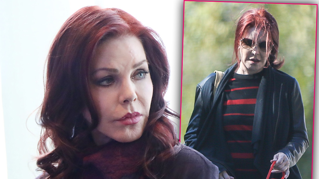 Friends Fear Aging Priscilla Presley S Fading Fast The Life Times Of Hollywood