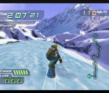 About to head down the mountain! Image courtesy of GameFAQs.