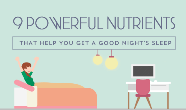 9 Powerful Nutrients for a Cozy Night's Sleep