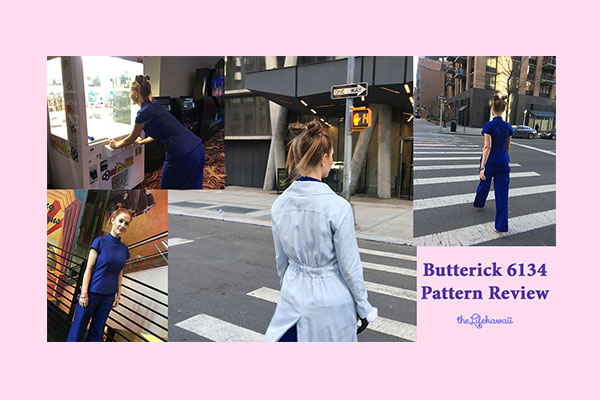 Patter Review Butterick 6134 | Sewing Butterick 6134