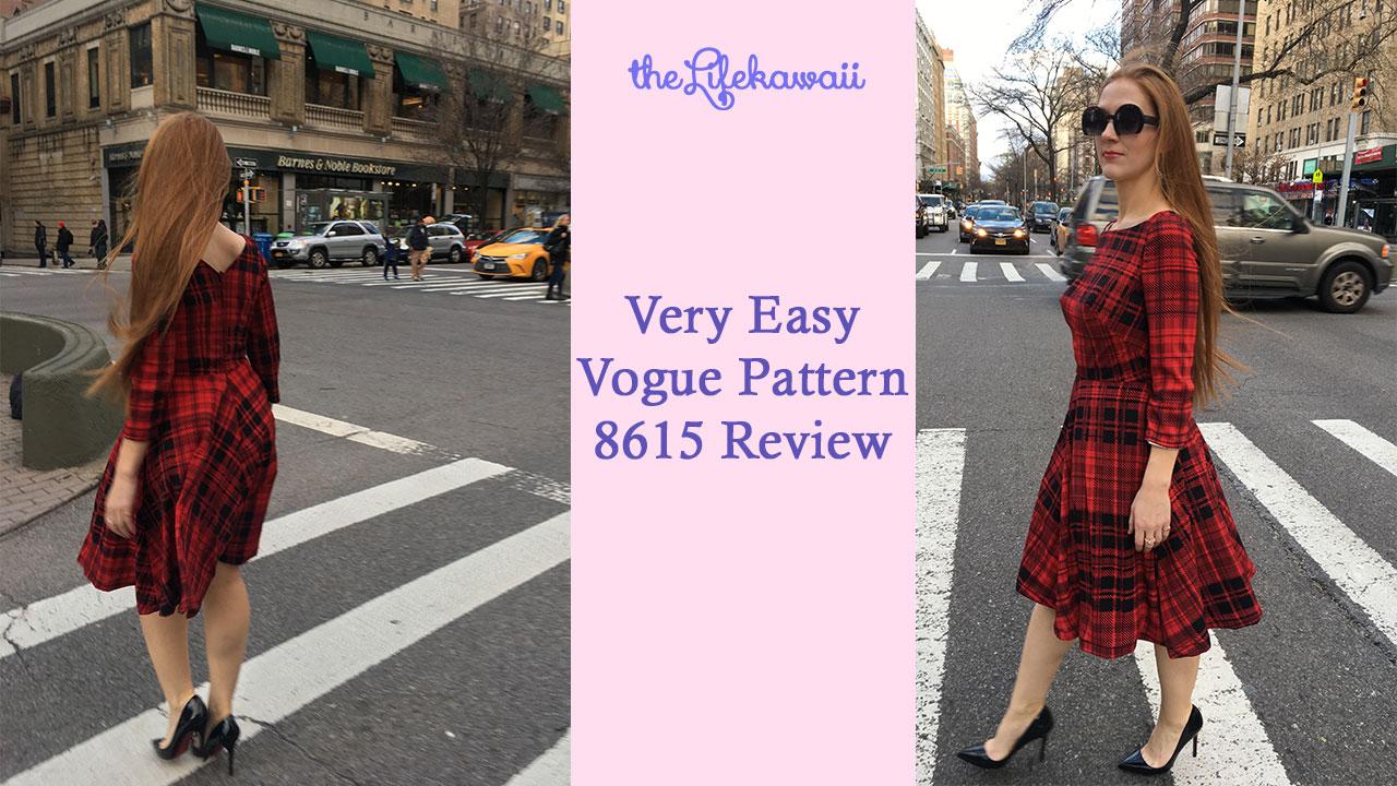 Vogue 8615 | Vogue Pattern Review 8615 | the Life kawaii