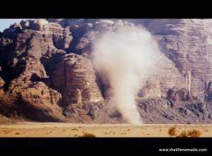 Wadi Rum Tornado