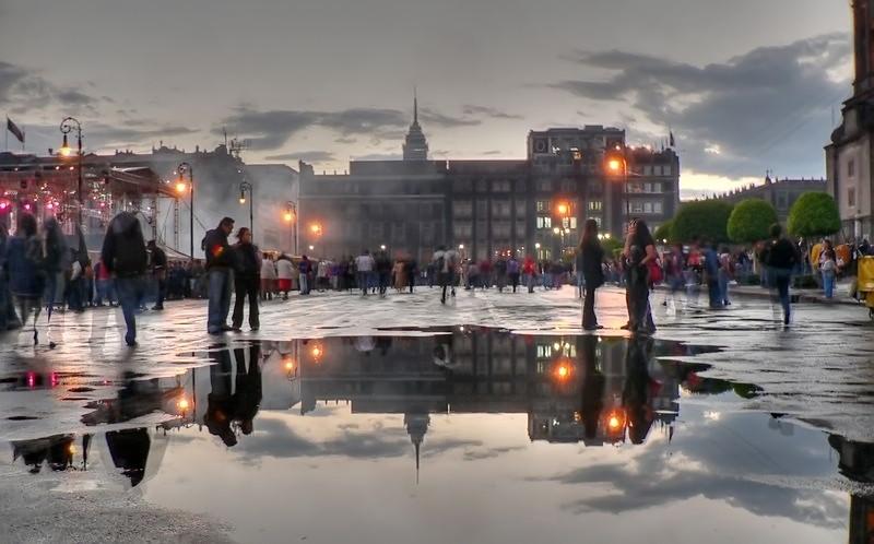 The Zocalo by Felix Guerrero vis Flickr
