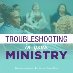 Troubleshooting in your Ministry