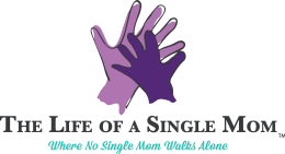 The Life of a Single Mom logo