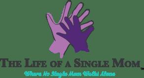 The Life of a Single Mom logo