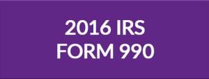 2016 IRS Form 990