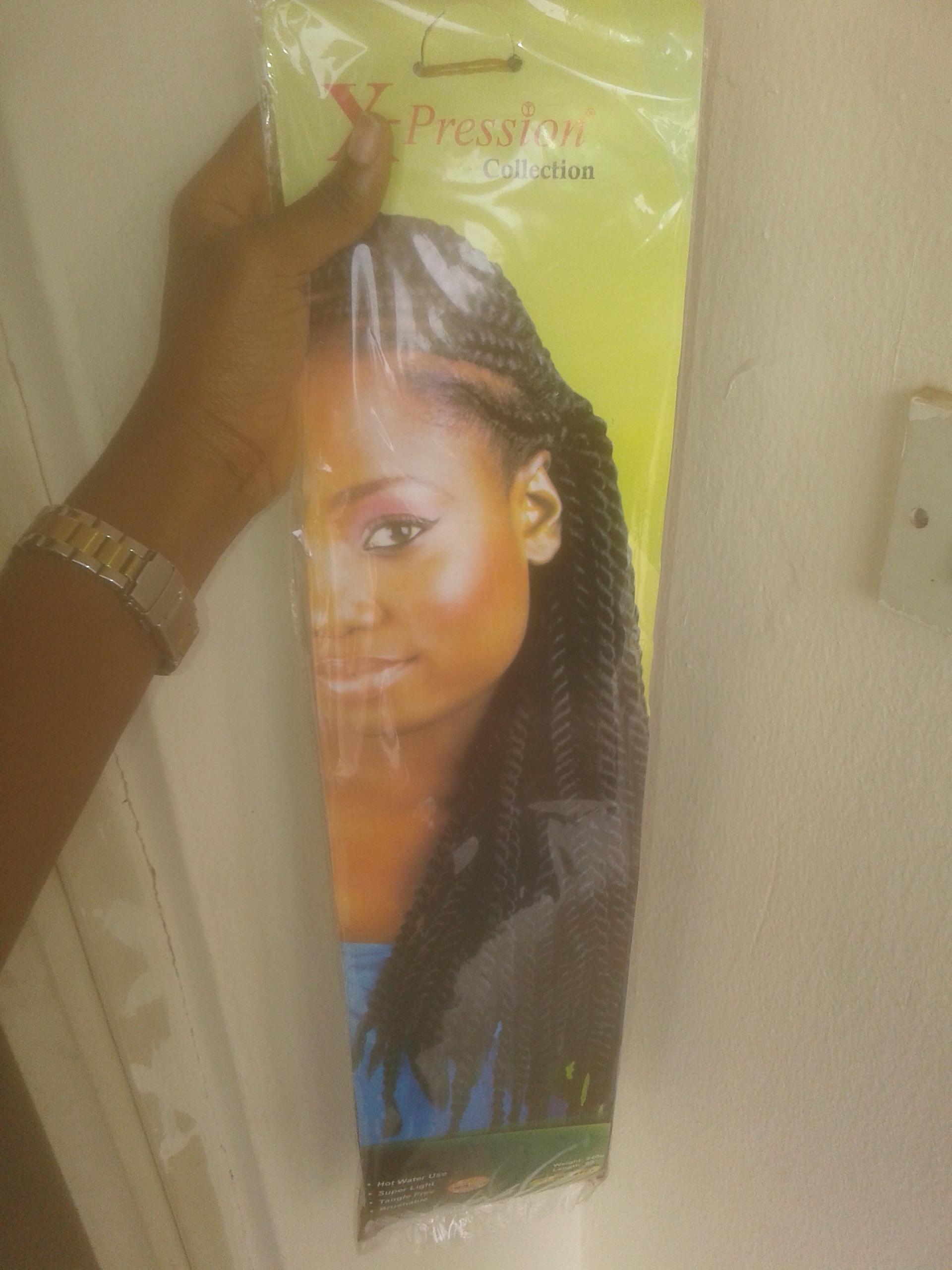 Ghana Weaving On Natural Hair Bookie Kunlere