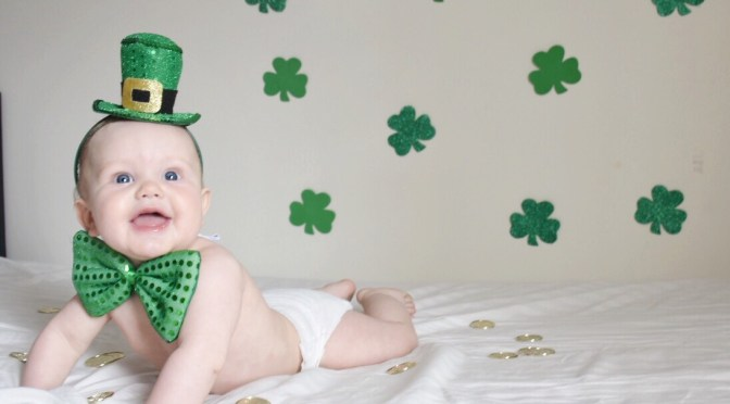 DIY St. Patrick's Day Photo Shoot