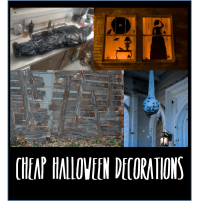 Fun (and cheap) Halloween decorations | thelifeoflulubelle