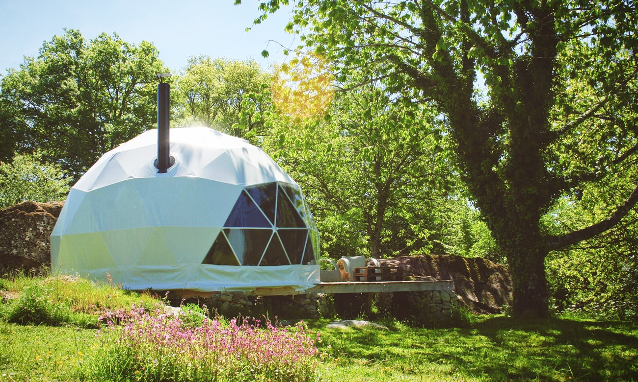 Glamping in central France: a rural retreat that's packed with creature comforts