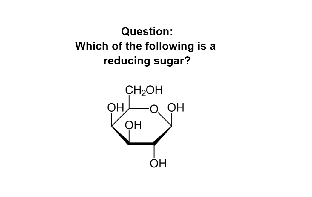 Which of the following is a reducing sugar?