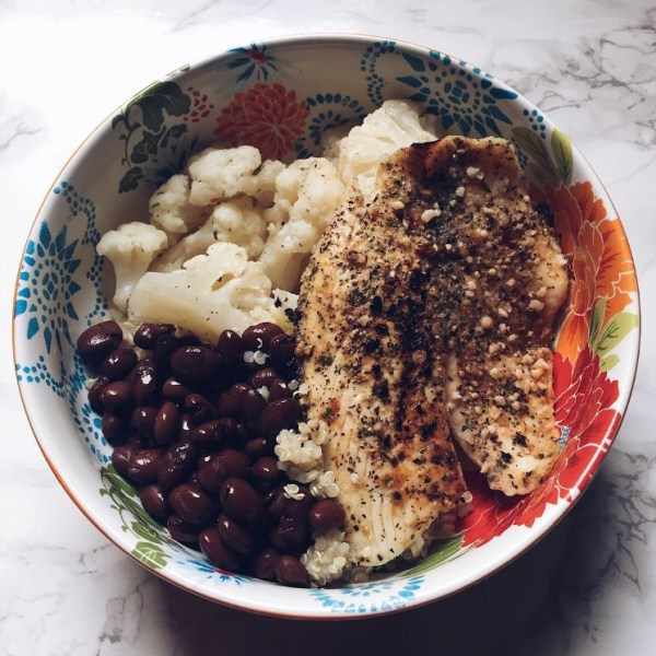 Healthy Meal Idea Plus My Tilapia Recipe