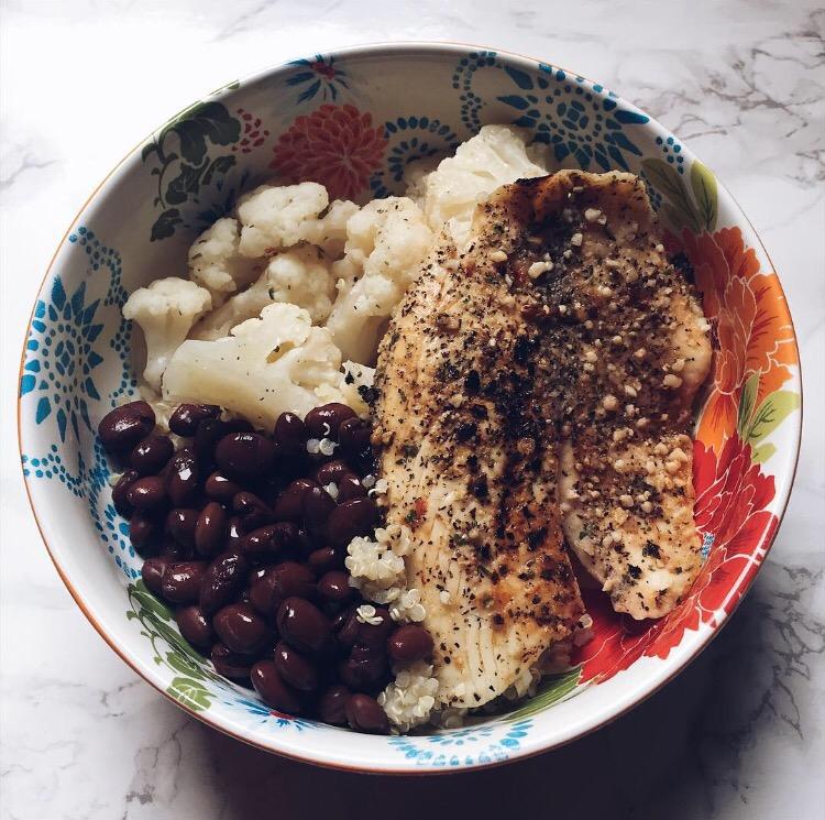 healthy meal idea