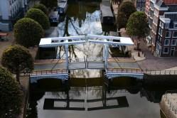 Mini version of the Skinny Bridge in Amsterdam
