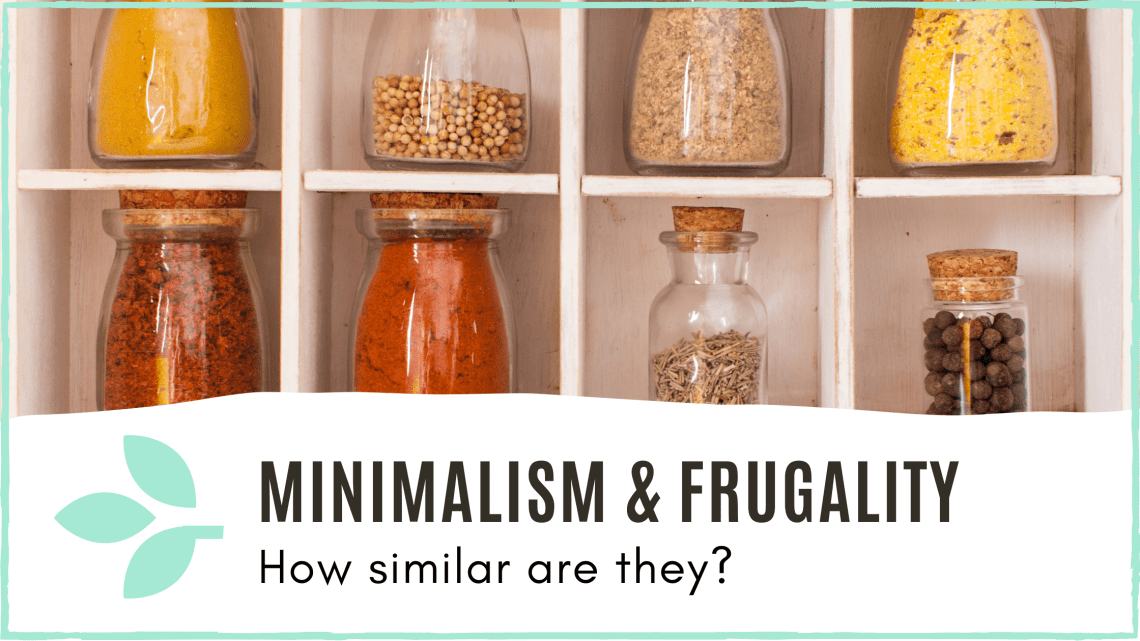 Link to 'Minimalism and frugality' blog post