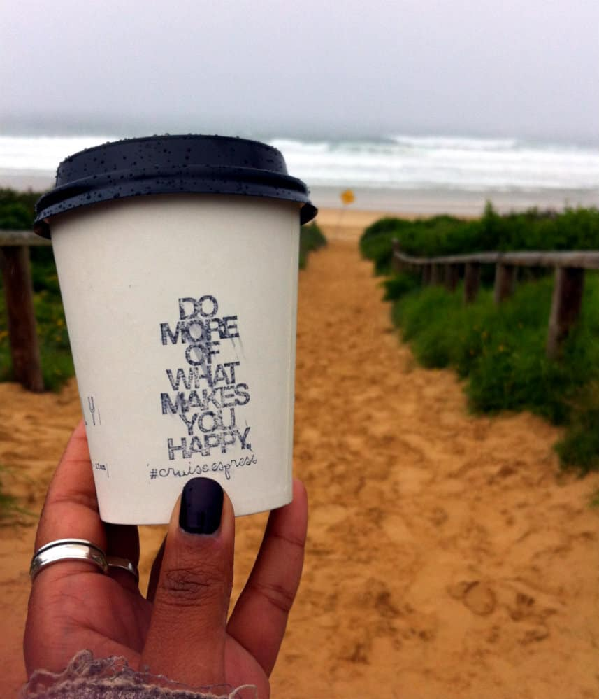 do  more of what makes you happy - coffee freshwater