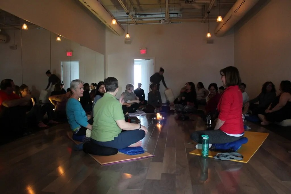 OM Chanting in Mississauga 1