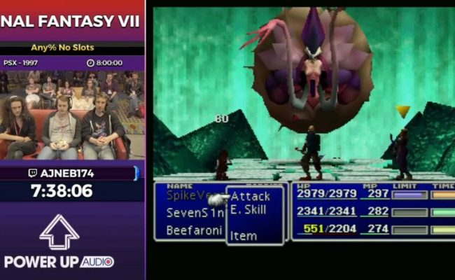 Final Fantasy Vii At Summer Games Done Quick 2017 The