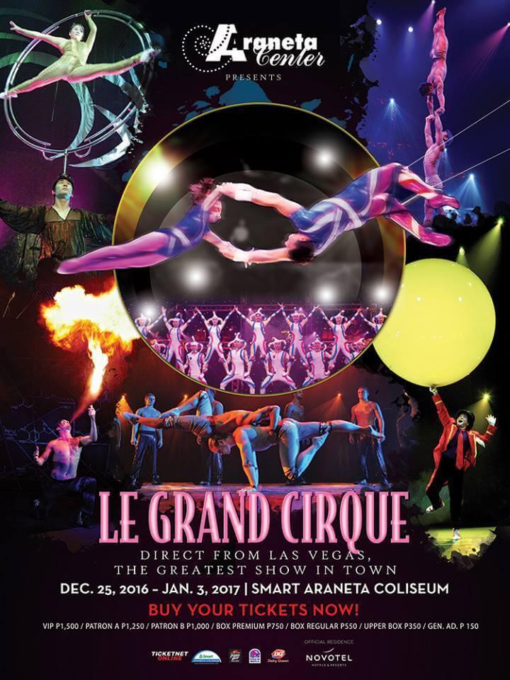 Le Grand Cirque Official Poster