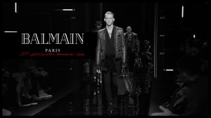 Balmain,Balmian 2017 fall/winter collection,olivier