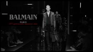 Balmain,Balmian 2017 fall/winter collection,olivier