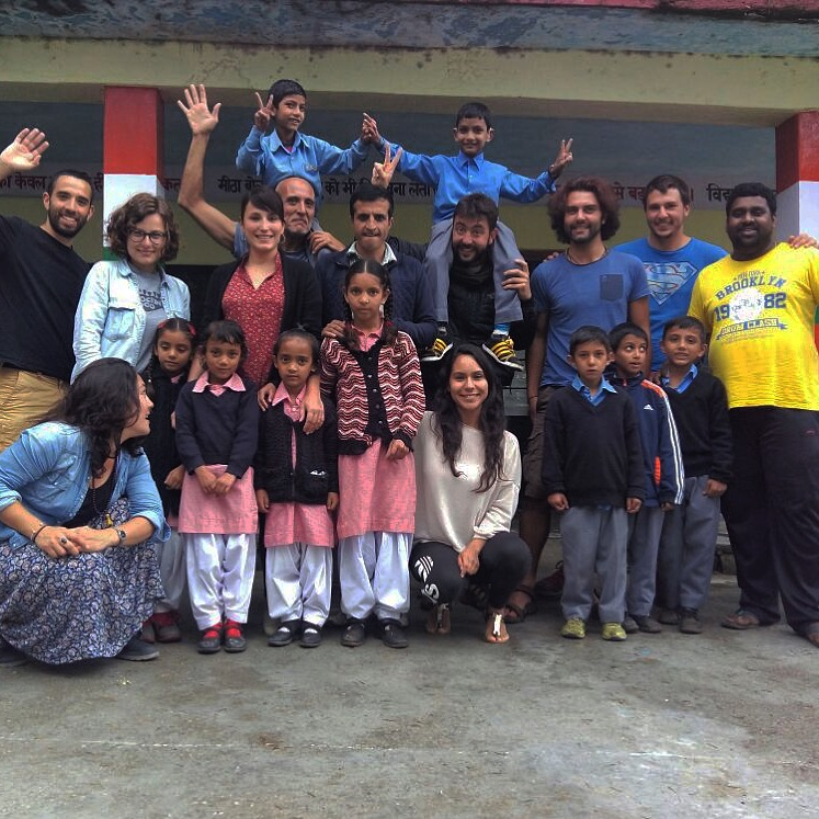 "My experience volunteering in India in the project ""The Himalayan Beauty"""