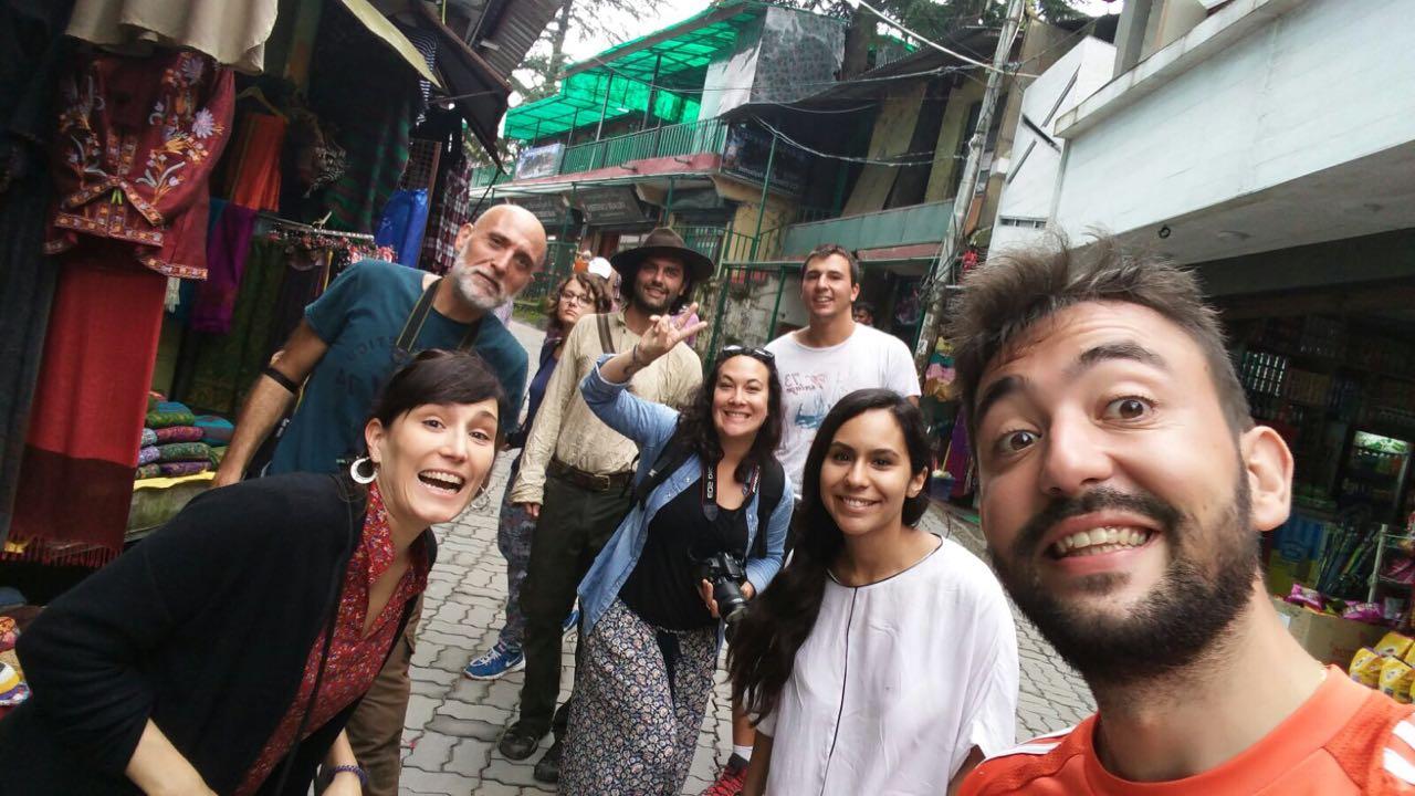 India dharamsala shopping